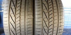 2 Goodyear Excellence Rft 275 35 20 Bmw With 7 5 8 5 32nd Tread Left 102 Y