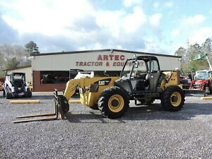 2012 Caterpillar Th514 Telescopic Forklift Watch Video Only 3548 Hours