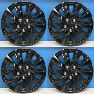 Toyota Camry Style 1037 15blk 15 Gloss Black Hubcaps Wheel Covers New Set 4