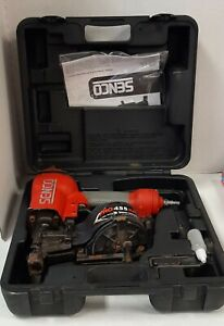 Senco Roofpro 445xp Coil Roofing Nailer 3 4 To 1 3 4 In Hardshell Case