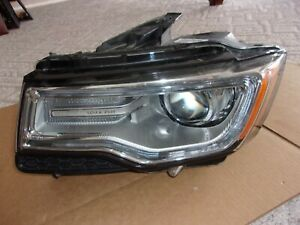 Oe 14 15 2014 2015 Jeep Grand Cherokee Left Headlight Xenon Hid Led 68144703af