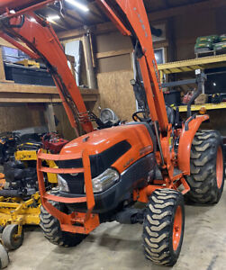 Kubota Grand L3240 1143hrs 34hp 4x4hydro La724 3pt Hitch blade Preemissions Ohio