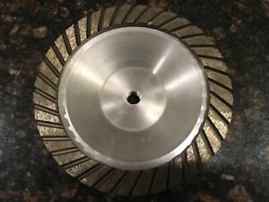 7 Spiral Turbo Diamond Cup Wheel For Concrete Grinding