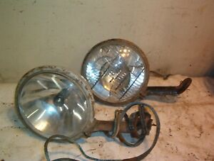 Two Dietz No 909 Driving Lights W mounting Bracket