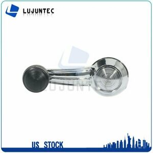Chrome Door Window Crank Handle Left Right For Chevrolet Blazer Suburban Pickup