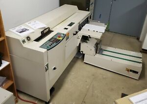 C p Bourg Bb3001 Perfect Binder With Cover Feeder Booklet Maker