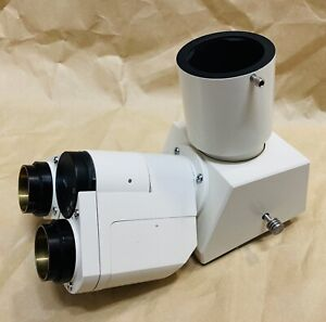 Zeiss Trinocular Microscope Head 451722 Axiovert 10 Maybe Others