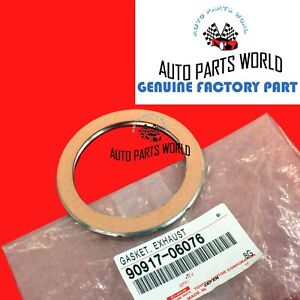 Genuine Toyota 4runner Tacoma Tundra Rx350 Es350 Exhaust Pipe Gasket 90917 06076