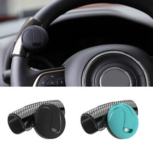Universal Car Steering Wheel Handle Aid Auto Booster Ball Spinner Knob Black