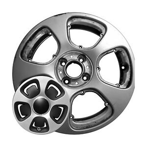 15x5 5 5 Slot Refurbished Fiat Front Aluminum Wheel Silver 96223