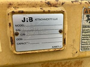 Used Jrb Snow Pusher Snow Box Snow Plows For Sale Skid Steere Back Hoe