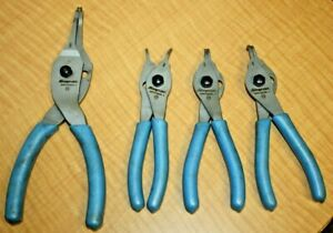 4 Pc Snap On Snap Retaining Ring Pliers Set Srpcr 9000 3845 4745 4790