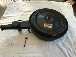 Original 1969 Impala Two Barrel Air Cleaner Assembly With Carb Mounting Stud nut