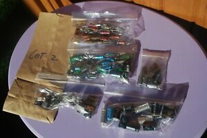 Resistors Capacitors Diodes Etc Electronic Componets Lot 2 Of 3 Available