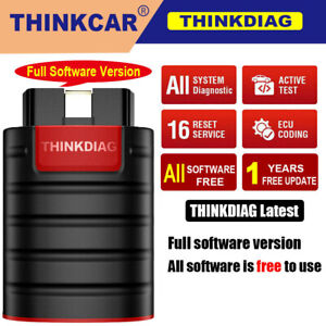 Launch Thinkdiag As X431 V Bluetooth Obd2 Scanner All System Actuation Test Tool