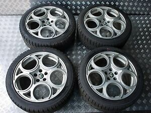 Fit For Alfa Romeo Gt 147 156 Gta Gtv V6 Srs 5x110 17 Wheel Rims Italy