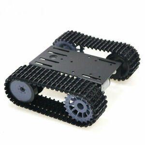 Tracked Robot Smart Car Platform Tank Crawler Chassis Solid Tank Mobile Toy S9t9