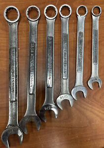Usa made Craftsman Professional Va Series 6pc Sae Combination Speed Wrench Set