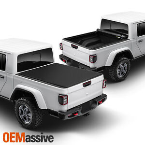 For 20 21 Jeep Gladiator Soft Roll Up Tonneau Cover 5 Ft 60 Bed Accessories