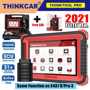 Thinktool Pro Obd2 Bidirectional Ecu Coding Tpms Immo Diagnostic Tool As X431 V