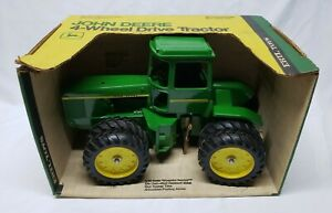 Vintage John Deere 8630 4wd Tractor In Yellow Top Box 1 16 Scale By Ertl