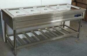 72 110v 5 well Commercial Buffet Steam Table Long Food Warmer Device 190551