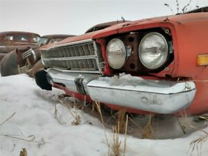1973 Plymouth Roadrunner Front Bumper