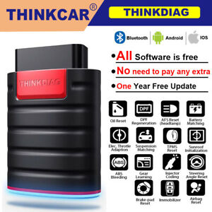 Thinkdiag Obd2 Scanner Full Software All System Actuation Test Diagnostic Tool