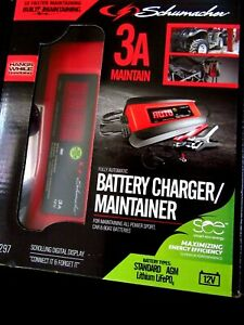 Schumacher 3 Amp Battery Charger maintainer Sp1297