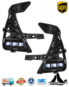 Led Driving Fog Lights Front Bumper Lamps Kits For 17 20 Lexus Is200 Is300 Is350