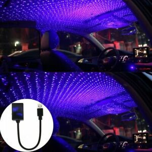 Usb Car Interior Led Atmosphere Light Roof Room Starry Sky Star Lamp Projector