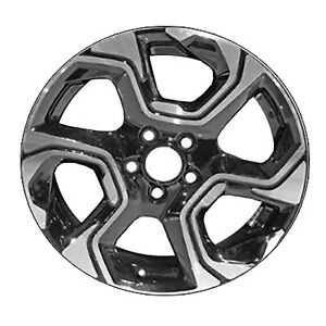 18 X 7 5 Refinished 6 Slot Honda Aluminum Wheel Machined And Black 560 64111