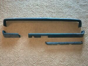 1968 1969 Dodge Dart Padded Dash And Shelf Cores