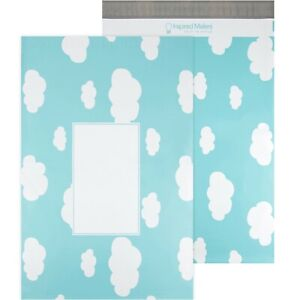 Clouds Large Poly Mailers 14 5x19 Pack Of 50