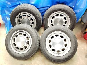 Ford Mustang 15 Factory Oem 10 Hole 4 Lug Rims Wheels Fox Body 85 93 Set Of 4