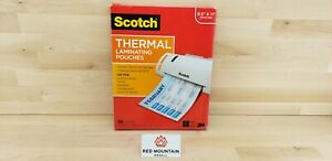 Scotch Letter Size Thermal Laminating Pouches Size 8 5 X 11 100 Pack