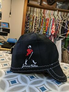 Wendys Welding Hat Made With Johnny Walker Application New