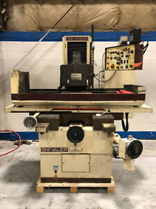 Chevalier Automatic Surface Grinder 12 x24 Magnetic Chuck Fsg 3a1224h Sony Dro