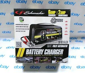 Schumacher Se 82 6 ca Fully Automatic Battery Charger