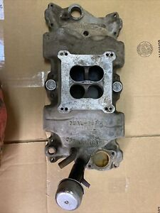 Vintage Offenhauser Chevrolet 360 Dual Port Aluminum Intake Small Block Chevy