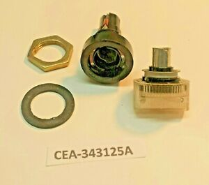 Cea 343125 Panel Mount 3ag Agc Fuse Holder With Blown Fuse Indicator Light