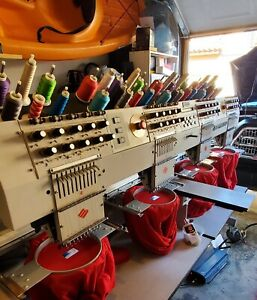 Melco Emt 10 4t Embroidery Machine Great Condition