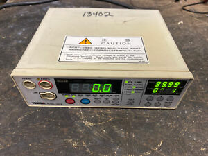 Tsuruga Electric Corporation 3567a 04 ry Bench Digital Meter Without Leads