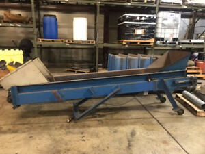 Straight line Inclined Belt Conveyors 2