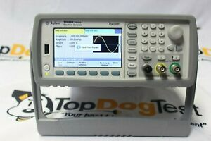 Hp Agilent Keysight 33522a Function Arbitrary Waveform Generator 30mhz Warranty