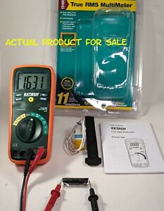 Extech Ex430a Ex430 True Rms Autoranging Multimeter