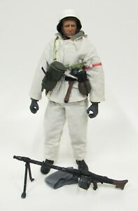 21st Century Ultimate Soldier 12quot; WWII Artic Snow Gear German Infantry $39.95