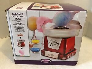 Pre owned used Once For Birthday nostalgia Hard Candy Cotton Candy Maker