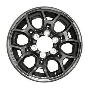 16x7 12 Slot Refurbished Toyota Aluminum Wheel Dark Charcoal 75191