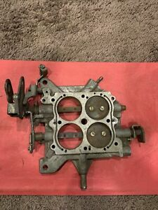 Holley Carburetor Base Plate Broken Model 4150 4779 Double Pumper